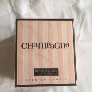 Henri Bendel Champagne scented candle NIB